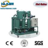Máquina usada vácuo de filtração tripla do purificador do óleo lubrificante do estágio