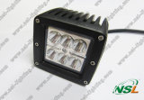 18W DEL Working Light Tractor Auot Offroad Lighting (NSL-1806D-18W)