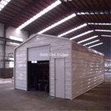 Modèles industriels en acier de cloche de coût bas préfabriqué à vendre