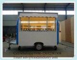 De nieuwe Vrachtwagens van het Restaurant van Susage van de Stijl Mobiele