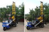 machine de extraction utilisée portative montée par entraîneur de forage de roche de faisceau de 200m Xy-200t