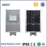 Facile d'installer la lumière solaire solaire imperméable à l'eau toute de jardin de la lumière 6W dans une