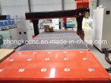 180 도 자동적인 공구 변경 목제 CNC 대패를 이동하는 스핀들