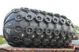 鎖およびタイヤのタイプ膨脹可能なゴム製フェンダー