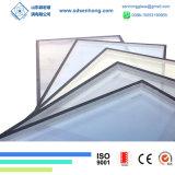 Glace isolée triple Inférieure-e r3fléchissante claire de double vitrage pour les éléments en verre