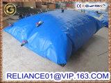 El tanque de vejiga plegable militar del agua de la almohadilla