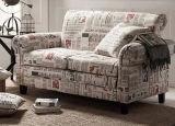 Sofa moderne de cabine de tissu pour la boîte de nuit (FOH-CBCK67)
