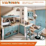 Kundenspezifischer Kirschfestes Holz-europäischer Art-Küche-Schrank