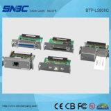 (BTP-L580IIC) Paralelo del USB de la prueba del derramamiento o impresora térmica RS 485 de Ethernet WLAN de RS232 de la salida de la posición de la escritura de la etiqueta de papel delantera serial del recibo