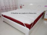 De comfortabele Matras van Feather&Down van de Eend/van de Gans voor Beddegoed
