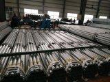 114mm Außendurchmesser-heißes BAD Galvanisierung-Rohr mit Kupplung und Schutzkappe