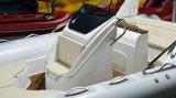 barco de la costilla del lujo de los 6.8m, bote de salvamento militar, barco de alta velocidad, barco de pesca inflable con el CERT del CE
