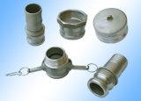 Di alluminio su ordinazione il pezzo meccanico della pressofusione con elaborare preciso