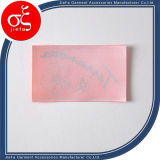 Rótulo de lavagem de etiquetas de cetim impresso personalizado