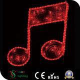 Свет музыкального примечания мотива декоративный СИД