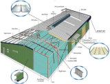 Bâtiment léger d'atelier d'armature en acier (LS-S-058)