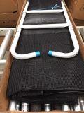 Круглый половинный Trampoline Поляк с внутренней безопасностью Enclosure01