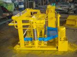Bloco concreto móvel da colocação de ovo da máquina Qmy4-30A do bloco que faz a máquina