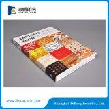堅いカバーによってカスタマイズされるデザインカタログ