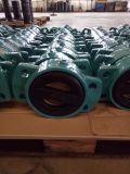 Задерживающий клапан Pn10/Pn16 двойной плиты Резин-Coated