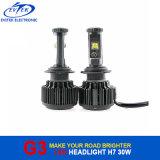 세륨 RoHS 증명서 자동 LED 헤드라이트 6000lm 60W H7 LED Headlamp H1 H3 9005 9006 H4 H11