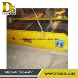 Separatore magnetico dell'asta cilindrica permanente dei rifiuti solidi