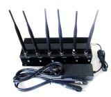 6 악대 VHF&UHF&GSM 4G&WiFi&GPS 방해기