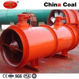 Soplador axial del extractor de Disrotatory de la explotación minera con Sillencer