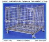 Warehouse Stackable staal gaas Pallet Container / Storage Cage