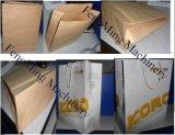 Квадратный нижний бумажный мешок делая машину