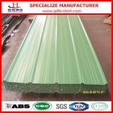 Vorgestrichenes gewölbtes Dach-Blatt des Stahl-PPGI