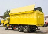 caminhão de descarga dourado do príncipe Tipo Coberta de 6X4 Sinotruk