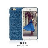 Het in het groot Geval van het Leer van de Krokodil van het Geval van de Luxe 4.7inch Echte voor iPhone 6
