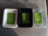 Recipiente plástico descartável feito sob encomenda por atacado da fruta da indústria de empacotamento do alimento