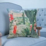 Het digitale Decoratieve Kussen/het Hoofdkussen van Af:drukken met Patroon Botanical&Floral (mx-11)
