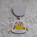 Ricos colores plegados 7pieces Hang Tag con cadena para bolsas