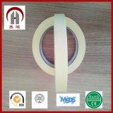 Papel de Crepe amarillo blanco de la fabricación que enmascara la cinta adhesiva