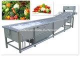 Máquina de lavar automática de vegetais e frutas com aço inoxidável