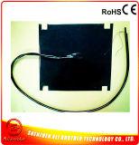650*650*1.5mm 12V 1400W Black Silicone 3D Printer Heater