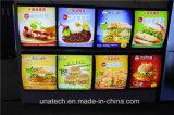 Aluminium Snap Frame Food Menu Board Light Box