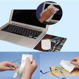 Almofada de rato antiderrapante ultra fina de Microfiber do silicone