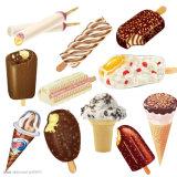 Popsicle da tecnologia nova/linha de produção completos automáticos gelado para o Sell