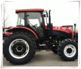 Trator de exploração agrícola da fábrica da alta qualidade (TF1304) 130HP 4WD grande com Ce