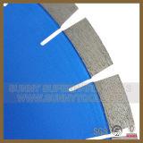 Форма w высокого качества делит на сегменты лезвия алмазной пилы 350mm для гранита