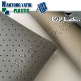 Couro artificial do PVC de auto Upholstery interno para a tampa de assento do carro