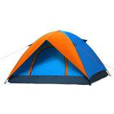 屋外のキャンプの二重皮のHikhingのドームのテント