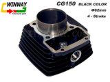 Ww-9107 Cg150 Cilindro de motocicleta de cor preta
