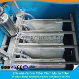 Бак матерчатого фильтра волокна завода Treament отработанной воды