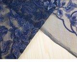 Tissu de lacet de broderie de qualité pour des accessoires de vêtement