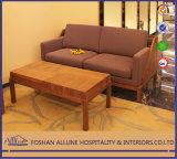 A mobília moderna asiática de Al-0907 Hilton Hotel simplifica o jogo de quarto enorme do lustro elevado da tela